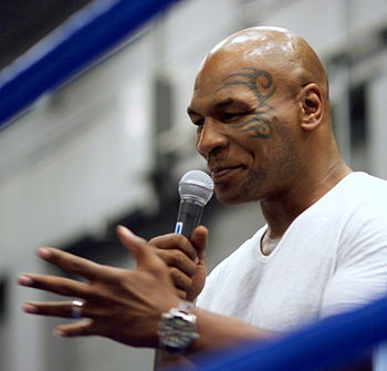 English: Mike Tyson at the South by Southwest ...