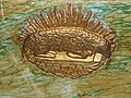 Milhac-d'Auberoche église autel agneau.JPG
