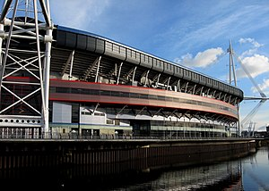 European Capitals and Cities of Sport Federation - Millennium Stadium in Cardiff, 2014 European Capital of Sport
