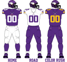 Minnesota Vikings 2016 Uniforms.png