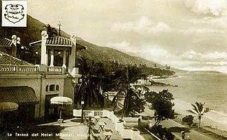 Macuto, Vargas - Miramar Hotel in 1929