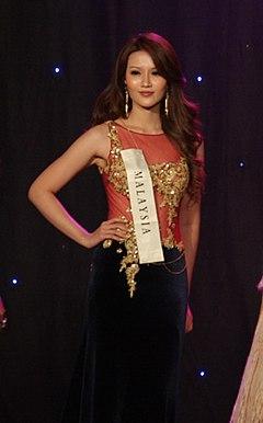 Pauline Chai Miss Malaysia