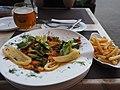 Mixed seafood plate at restaurant Jura, Jurmala, Latvia.jpg