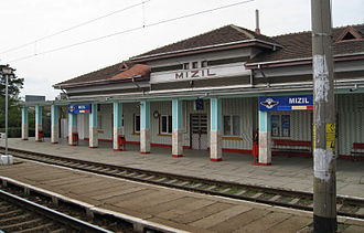 Mizil - Mizil train station