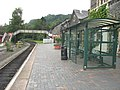 Modern waiting room at Betws-y-Coed Station - geograph.org.uk - 555785.jpg