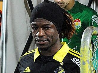 Mohamed Bangura - Bangura during his third spell at AIK.