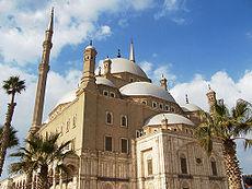 Mezquita de Mohamed Ali construida a comienzos del siglo XIX en la ciudadela de El Cairo