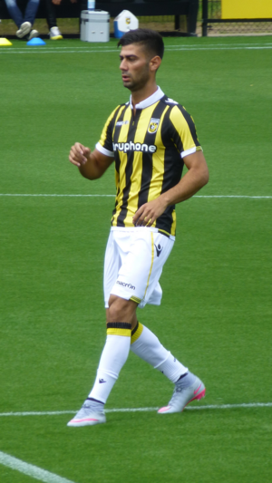 Mohammed Osman - Osman with Vitesse in 2015