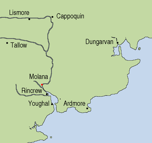 Molana Abbey - The location of Molana Abbey