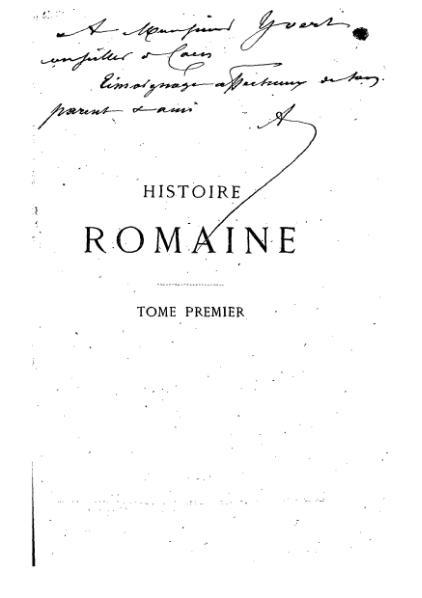 File:Mommsen - Histoire romaine - Tome 1.djvu