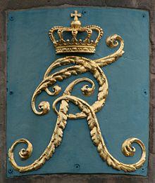 Monogramm Friedrichs (Quelle: Wikimedia)