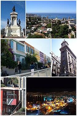 Valparaíso photomontage