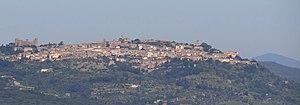 Montalcino - Image: Montalcino Skyline 2012