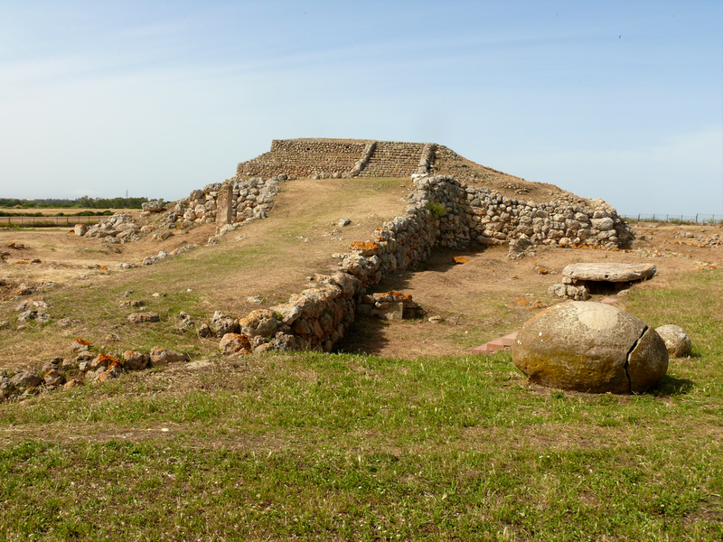 Monte d'Accoddi platform, Italy: 2700-2000 B.C.