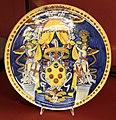 Montelupo, piatto con stemma medici, 1532-37 ca. (museo bardini).jpg