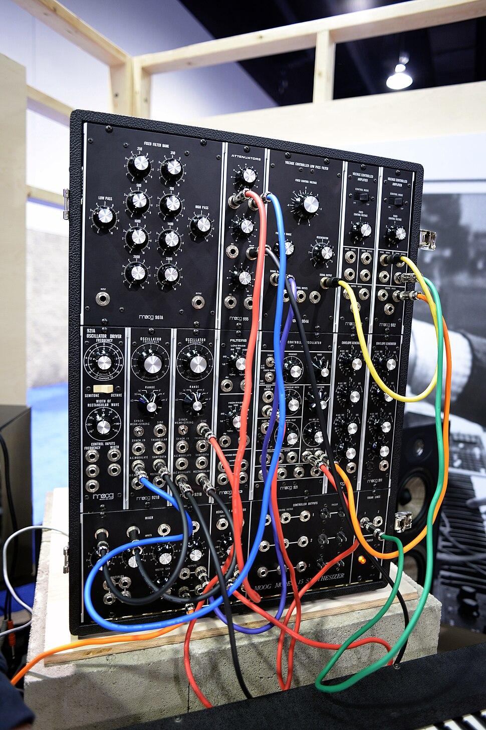 Moog System 15 - 2015 NAMM Show