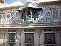 Mor chowk wall, City Palace, Udaipur.jpg