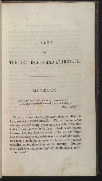 File:Morella - Tales of the Grotesque and Arabesque 1840.djvu