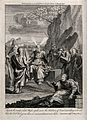 Moses speaks to his people in the land of the Moab, in the f Wellcome V0034287.jpg