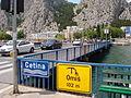 Most na Cetini, Omiš - natpis.jpg