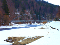 Most wiszący w Węgierskiej Górce.png