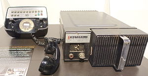 Car phone - Motorola Car Telephone Model TLD-1100, 1964