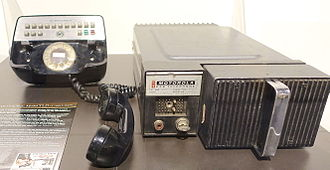 Car phone - Motorola Car Telephone Model TLD-1100, 1964