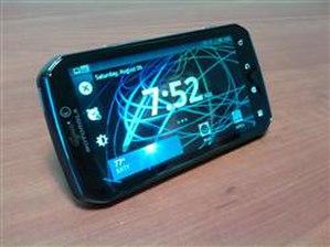 Motorola Photon - The Motorola Photon 4G at rest