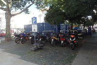 Motorradparkplatz Schweinfurt Albrecht-Dürer-Platz