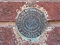 Moultrie Commercial Building, Geodetic Survey Bench Mark.JPG