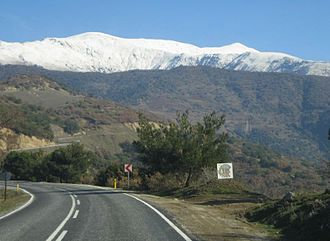 Lydians - Mount Tmolus (Bozdağ today) in the Lydian heartland.