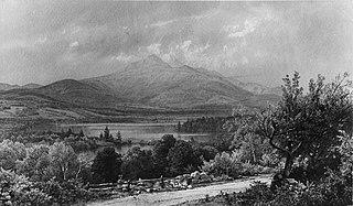Mount Chocorua and Lake