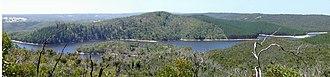 Mount Bold Reservoir - Image: Mt Bold Reservoir panorama