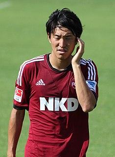 Mu Kanazaki Japanese footballer