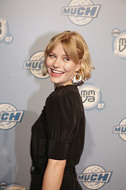 Emilie de Ravin vuoden 2007 MuchMusic Video Awards -gaalassa.