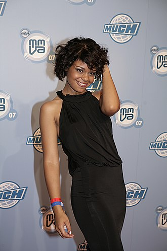 Fefe Dobson - Dobson at the Much Music Video awards in 2007.