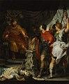 Mucius Scaevola vor Porsenna Rubens van Dyck.jpg
