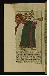 Israfil angel in Islam; sometimes identified with Raphael