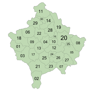 Municipalities of Kosovo.svg