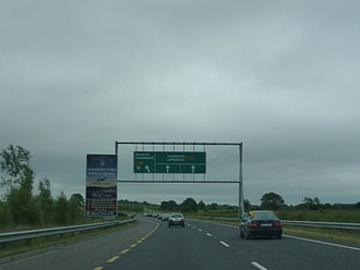 Shannon Airport - N18 near Shannon Airport exit