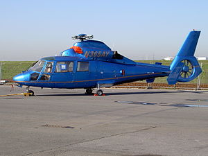 N365AY AS-365N-3 Eurocopter at Antwerp harbour.JPG