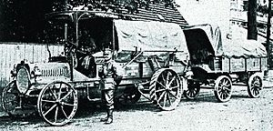 Joseph Vollmer - NAG truck of the Imperial German Army, 1905