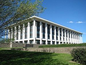 Parkes, Australian Capital Territory - Image: NLA Canberra 01JAC