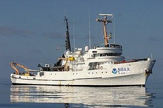 NOAAS David Starr Jordan (R 444) - Image: NOAA Ship David Starr Jordan NOAA Photo