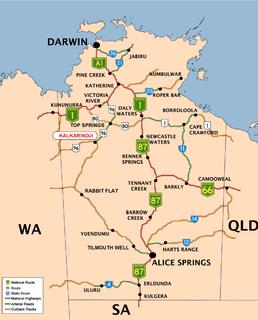 Kalkarindji Aboriginal settlement in the Victoria Daly Region, Northern Territory, Australia
