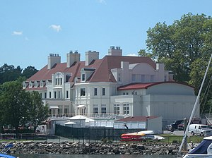 New York Athletic Club - Travers Island main house