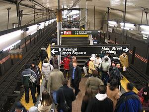 IRT Flushing Line - Grand Central deep vault