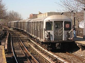 R40/A (New York City Subway car) - Image: NYC Subway 4509