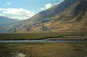 Transverse Valleys - Image: Nac rio limari