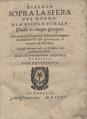 Nale - Dialogo sopra la sfera del mondo, 1579 - 4778115 F.tif